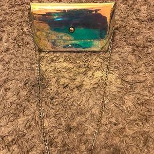 Chrome purse